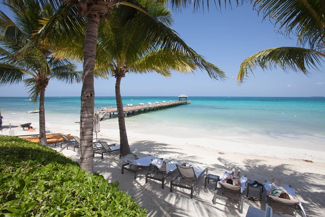 Beach at the Blue Diamond Riviera Maya by BlueBay/Oyster