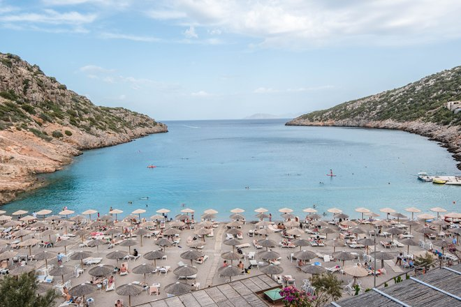 Beach at the Daios Cove Luxury Resort & Villas, Crete/Oyster