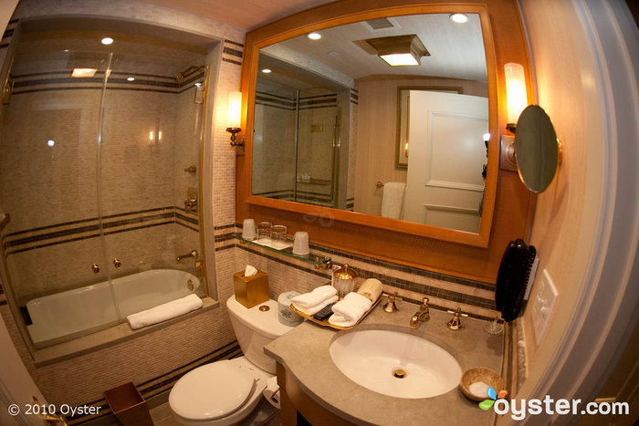 Bathroom at St. Regis Washington D.C.
