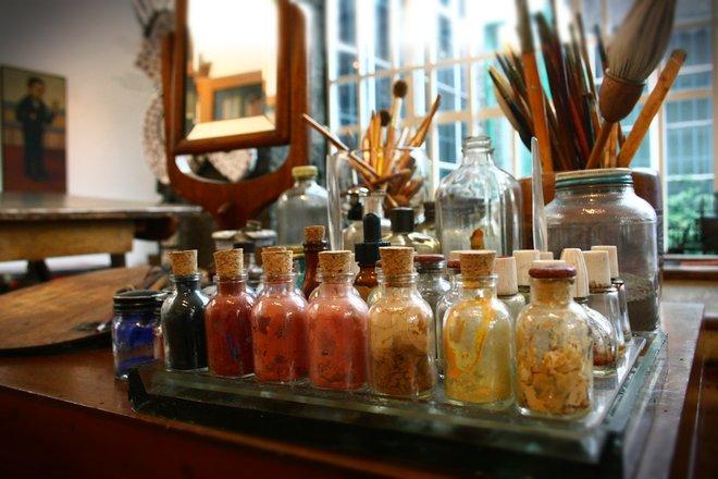 Frida Kahlo's studio by Verino77/Flickr