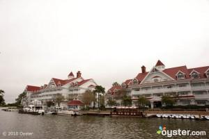 The Grand Floridian's marina
