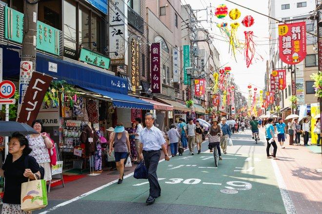 Sugamo-Jizo-Einkaufsstraße / Oyster