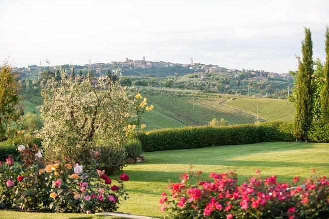 Jardim no Aia Mattonata Relais, Toscana / Ostra