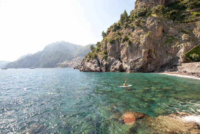 Beach at the Il San Pietro di Positano, Amalfi Coast/Oyster