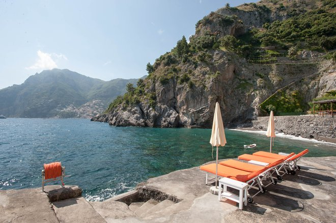 Beach at the Il San Pietro di Positano/Oyster