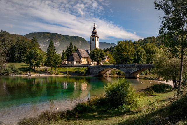 Ribčev Laz at Lake Bohinj, Slovenia. Bernd Thaller/Flickr