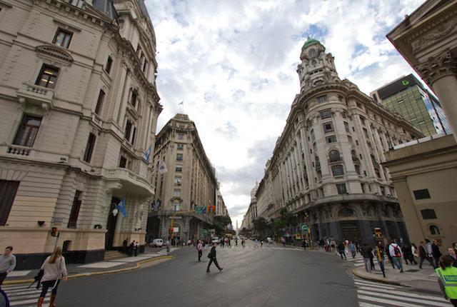 Diagonal Norte, Microcentro, Buenos Aires / Ostra