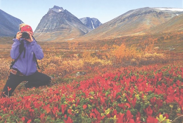 Foto cortesía de Clara Nyström, escandinavo de aventuras fotográficas.