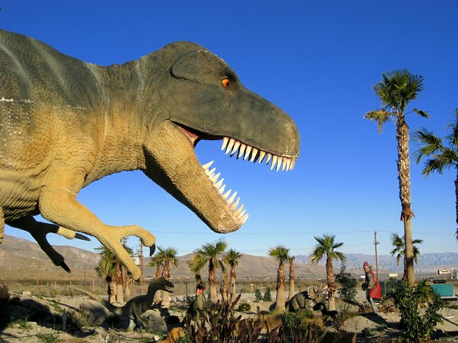 Desert dinos; Mike Souza/Flickr