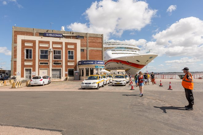 Montevideo Hafen / Auster