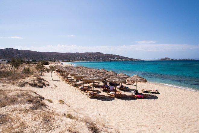 Praia de Plaka, Naxos / Ostra