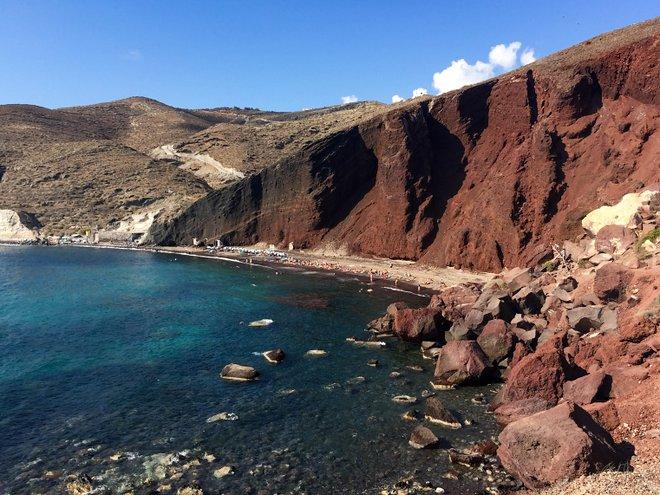 Red Beach, Santorini/Oyster