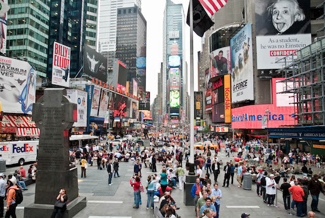Times Square, New York City / Auster