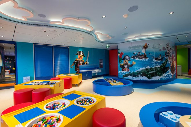 Junior Club on MSC Seaside/Oyster