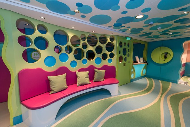 Guppies Nursery on Norwegian Escape/Oyster