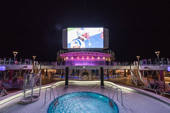 Movies Under The Stars on Regal Princess/Oyster