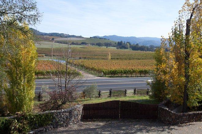 Blick vom Kenwood Inn und Spa in Sonoma / Oyster