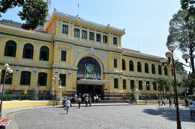 Saigon Post Office; Anne und David / Flickr