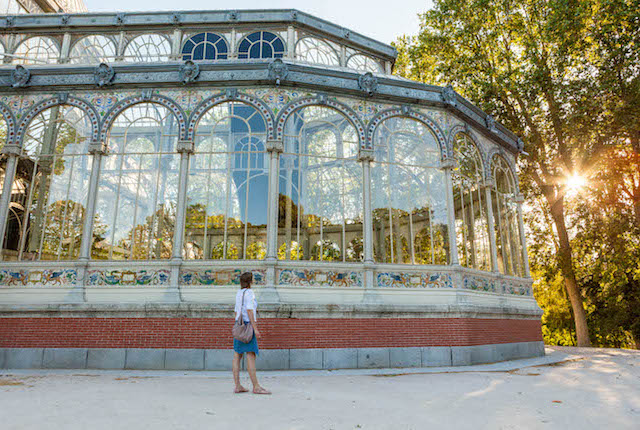 Crystal Palace at Retiro Park, Madrid/Oyster