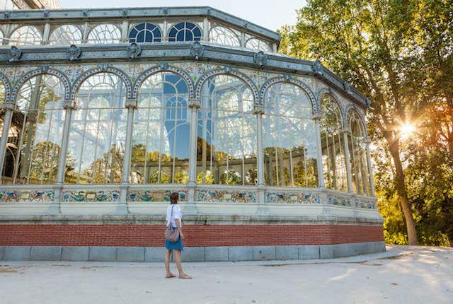 Crystal Palace en el parque del Retiro, Madrid / Oyster