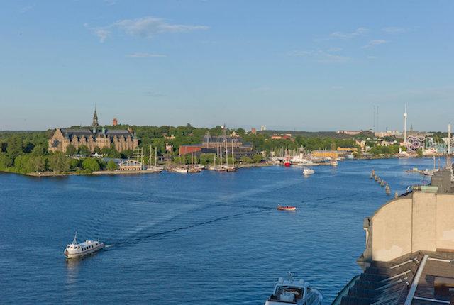 Stockholm, Suède / Huître