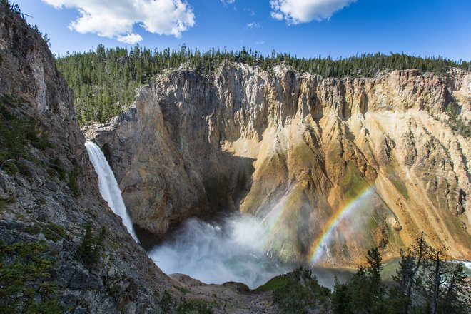 Le parc national de Yellowstone; Neal Herbert / Flickr