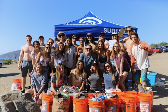 Beach Cleanup/Courtesy of Surfrider Foundation