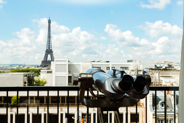 La Eiffel Suite all'Hotel Plaza Athenee / Oyster