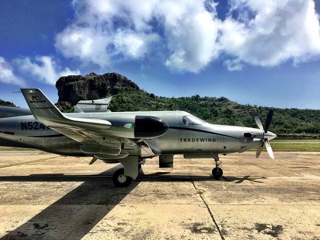 Tradewind Aircraft, St. Barts/Oyster