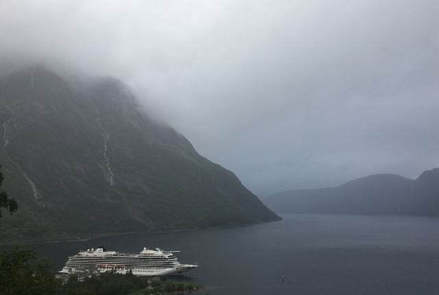 Norwegian fjords in the rain/Maria Teresa Hart