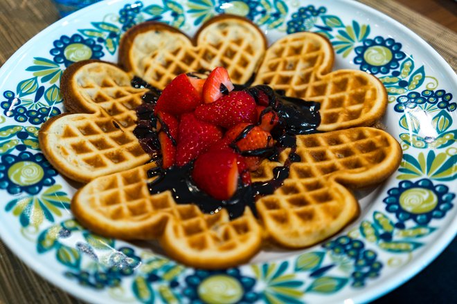 Mamsen's traditional waffles/Oyster