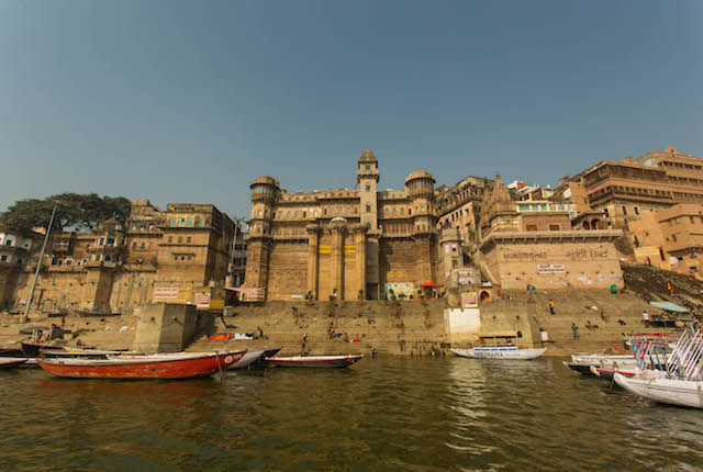 Brijrama Palace, Varanasi / Oyster