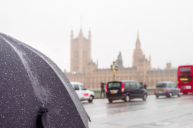Rainy Day in London; Aidan/Flickr