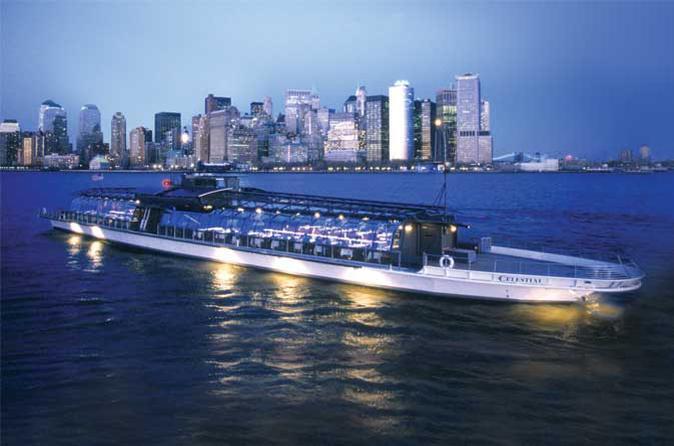 Bateaux Cena Crucero Nueva York / Viator