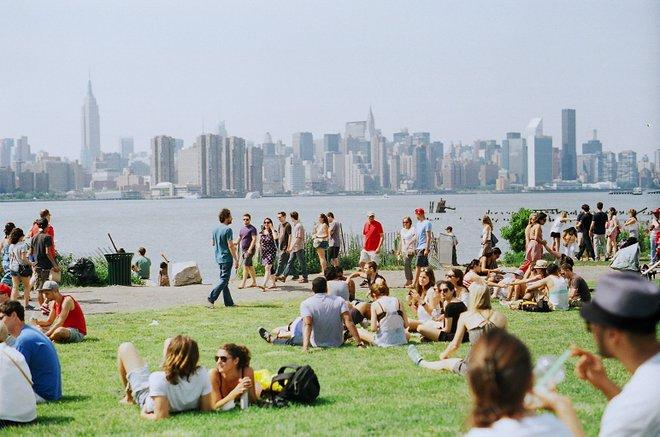 Horizonte de Manhattan desde Williamsburg; Harold Navarro / Flickr
