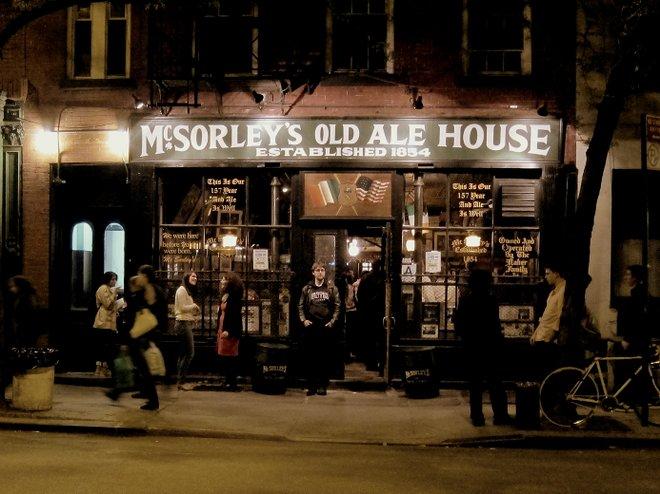 McSorley's; Jeff Rosen/Flickr