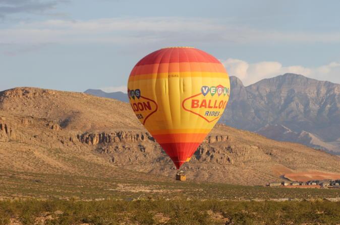 Paseo en globo aerostático de Las Vegas / Viator