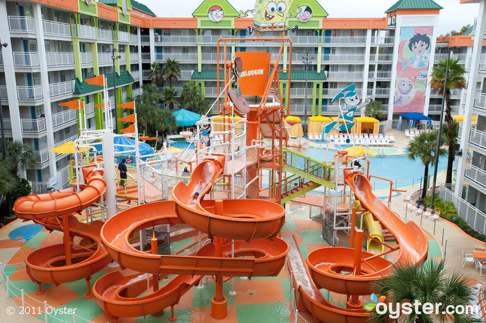 Nickelodean Suites Resort Orlando, Florida