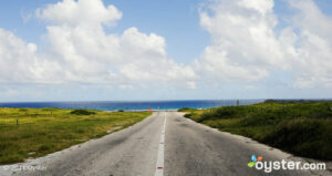 Fortheuval Straat, leading to Bachelor's Beach, Aruba