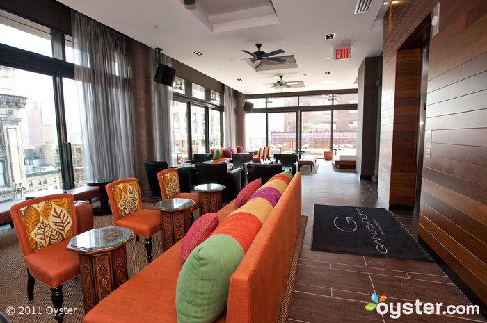 Plunge Bar, Gansevoort Park Allee, New York City