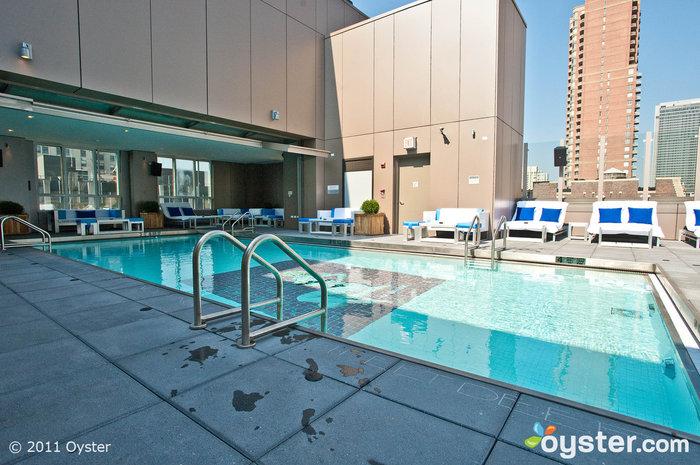 Pool in der Gansevoort Park Ave, New York City
