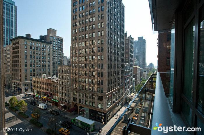 Vista dalla Park Suite al Gansevoort Park Ave, New York City