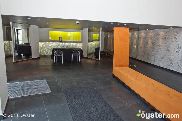 Lobby im Loft Hotel, Montreal