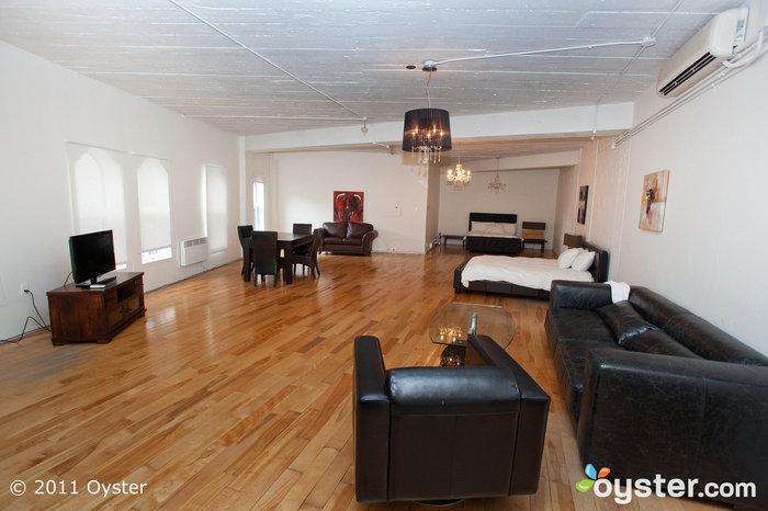 Executive Suite im The Loft Hotel, Montreal
