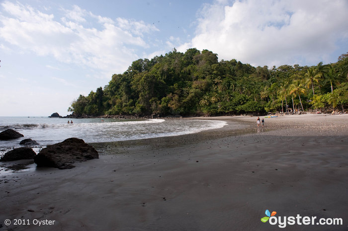 Beach at the Buena Vista Luxury Villas, Manuel Antonio, Costa Rica