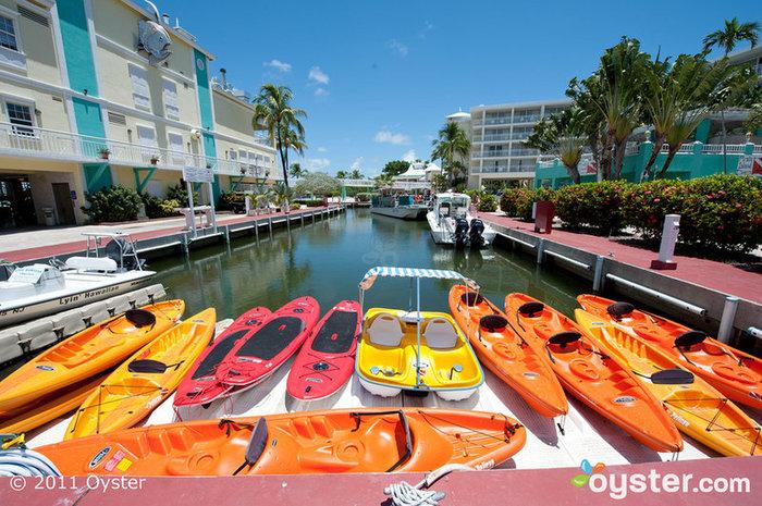 Grounds at the Marriott Key Largo Bay Beach Resort