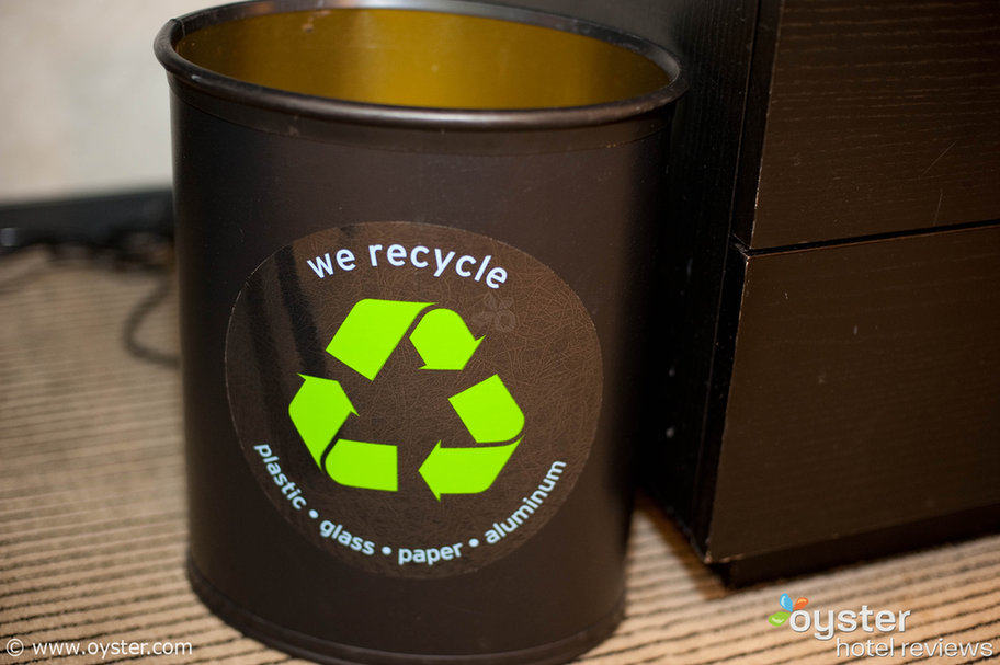 Despite what the Starwood exec says below, the Westin New York at Times Square claims to recycle