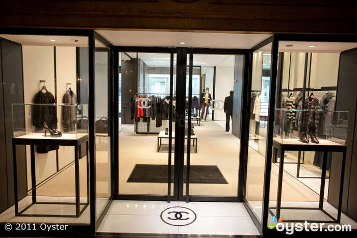 The Chanel Store at the Drake Hotel
