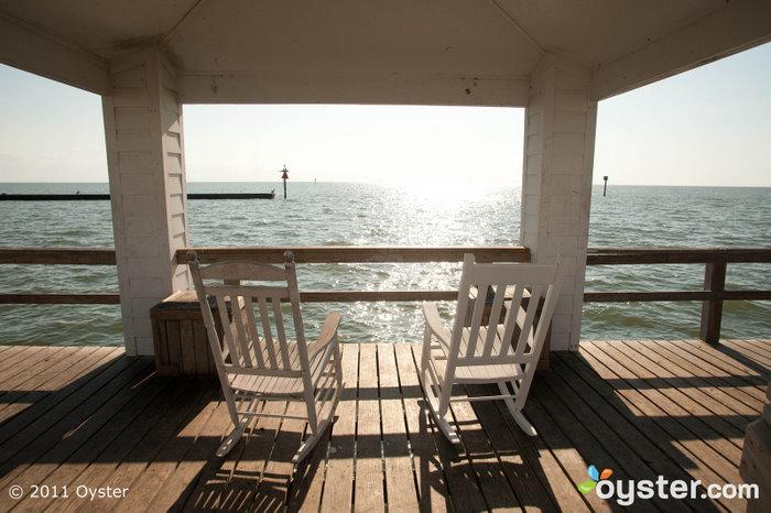 Views abound at the Lighthouse Inn at Aransas Bay
