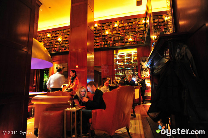 The Library Bar at the Hudson Hotel